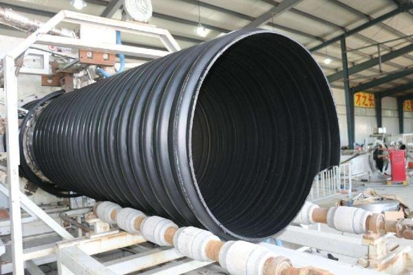 HDPE钢带管批发